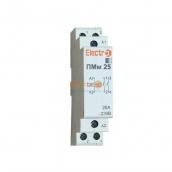 Пускач електромагнітний модульний ElectrO ПМм 2Р 25 4 кВт 230 В