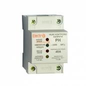 Автоматическое реле контроля напряжения ElectrO РН 1Р+N 40 А 7,4 кВт 230 В