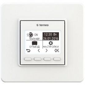 Программируемый терморегулятор terneo pro* для инфракрасных панелей и обогревателей 75x75x38 мм
