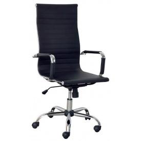 Офисное кресло Solano-artleather 1060-1140х480х475 мм черное