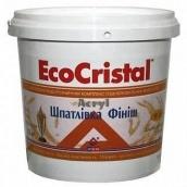 Шпаклівка Eco Cristal фінішна готова 15 кг