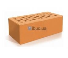 Кирпич лицевой Евротон утолщенный 250х120х88 мм персиковый