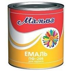 Эмаль Мальва ПФ-266 2,8 кг желто-коричневая