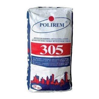 Штукатурка POLIREM 305 25 кг