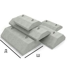 Фундаментная подушка ФЛ 8.24-2 1180х800х300 мм