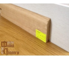 Плинтус пристенный Файні Підлоги дуб 13х70 см