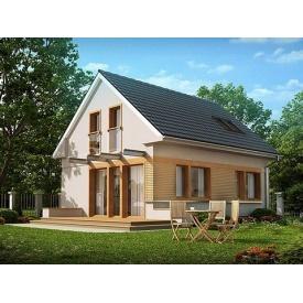 Строительство дома по проекту Адель Комфорт 6,3х8,1 м