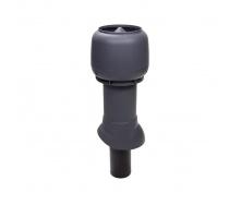 Вентиляционный выход для канализации VILPE 110/ИЗ/350 110х350 мм серый