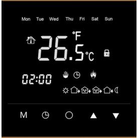 Терморегулятор Profitherm Touch 86х86х44 мм