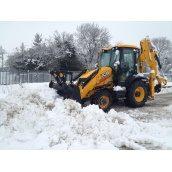 Уборка снега техникой
