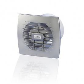 Вентилятор витяжний Europlast Extra E 100 19 Вт 100 м3/год 100х130х140 мм світло-сірий