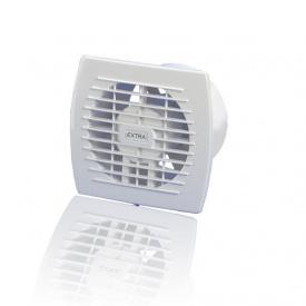 Вентилятор витяжний Europlast Extra E 100 100х130х140 мм з таймером і датчиком вологості