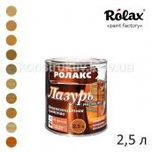 Лазур алкідна для дерева Ролакс Premium 2,5л