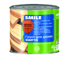 Грунт SMILE SWP-10 WOOD PROTECT для дерева антисептирующий 2,3 л