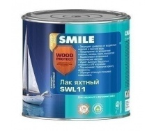 Лак яхтный SMILE SWL-11 глянцевый 0,75 л дуб
