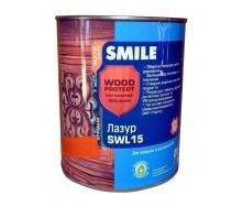 Лазурь SMILE SWL-15 WOOD PROTECT 0,75 л махагон