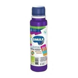 Краска-колер SMILE SC-31 акриловая матовая 0,35 кг фиолетовый