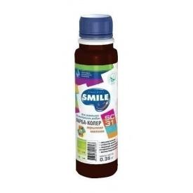 Краска-колер SMILE SC-31 акриловая матовая 0,35 кг черный шоколад