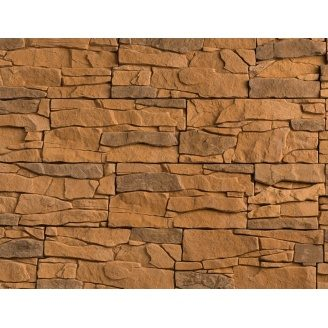 Плитка бетонная Einhorn под декоративный камень Альпийская скала 11 145x320x40 мм
