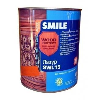 Лазурь SMILE SWL-15 WOOD PROTECT 0,75 л сосна