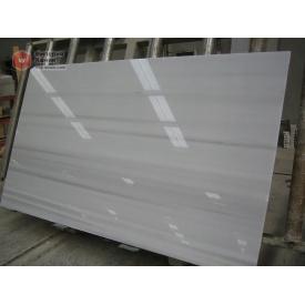 Мрамор Marmara 20 мм сляб белый с черными линиями