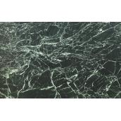 Мармур Spider Green сляб темно-зелений зі світлими жилами