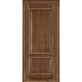 Межкомнатная дверь TERMINUS Classic Модель 04глухое полотно дуб браун