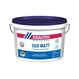 Краска интерьерная латексная Krautol SILK MATT B1 2,5 л