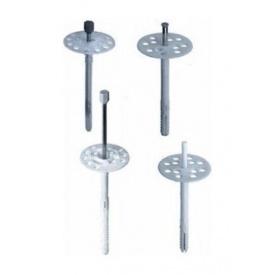 Дюбель-зонт фасадний Wkret-met 180 мм з металевим цвяхом і термоголовкою