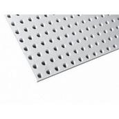 Перфорований гіпсокартонний лист Knauf-Acoustic ППГЗ-С1-8/18 КР-4ФК 1998х1188х12,5 мм білий