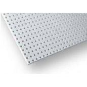 Перфорований гіпсокартонний лист Knauf-Acoustic ППГЗ-С2-12/25 КВ-4ПК 2000х1200х12,5 мм білий