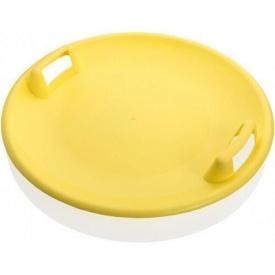 Санки-ледянка Plastkon Superstar жовті