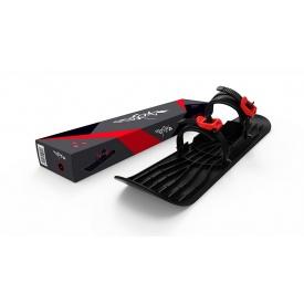 Монолыжа Plastkon OneFoot Miniski черная с красным