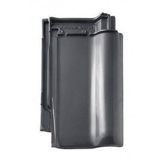 Черепица Braas Рубин 13V Ангоба 435х276 мм серый