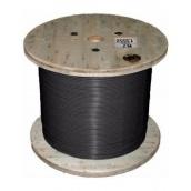 Нагревательный кабель Nexans TXLP (DRUM) одножильный отрезной 7,7 Ом/м Black