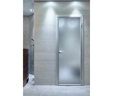 Виготовлення одностулкових розпашних дверей з алюмінію