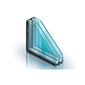 Двухкамерный стеклопакет 4-12-4-12-4i с энергосбережением 38 дБ
