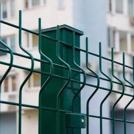 Столбик для евроограждения 2 м зеленый