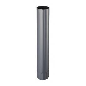 З'єднувач труб Прушиньскі Niagara 90х500 мм сірий