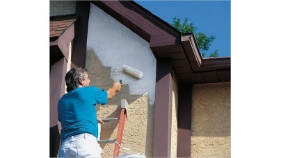 Покраска фасада дома своими руками