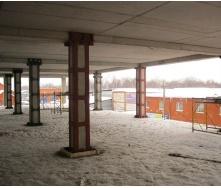 Реконструкция несущих конструкций в здании