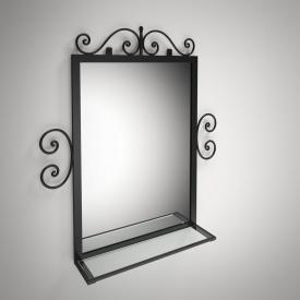 Зеркало Тауэр Tenero 920х830х130 мм черное