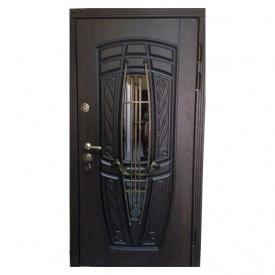 Входная дверь Portala Премиум New Монако АМ18 Vinorit*2 металлическая 850х2040 мм