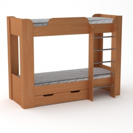Двухъярусная кровать Твикс-2 Компанит 1974х908х1522 мм ольха