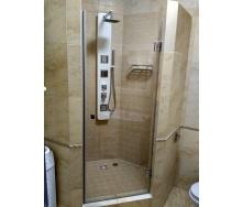 Двері для душової кабіни скляні