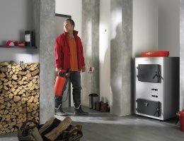 Використовуючи твердопаливний котел витрати на обігрів будинку знижуються до мінімуму