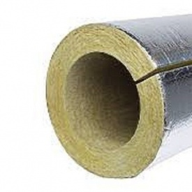 Базальтовые цилиндры PAROC Pro Section 100 в алюминиевой фольге 89 мм 30 мм