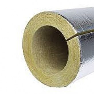 Утеплювач для труб PAROC Pro Section 100 з алюмінієвою фольгою 168 мм 50 мм