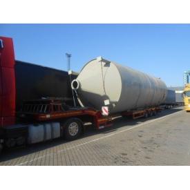 Перевезення промислового обладнання тралами