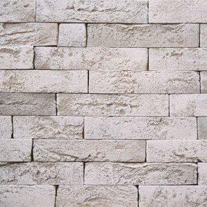 Плитка декоративна гіпсова Rustika Оксфорд 250x50 білий